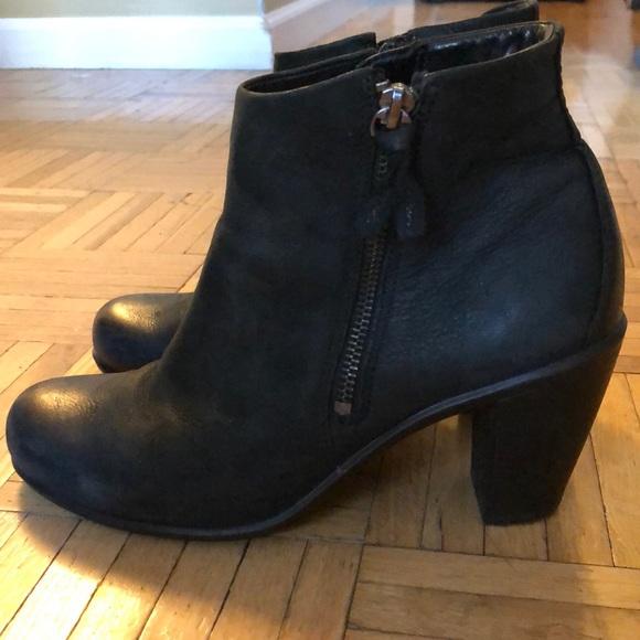 9c5b7734a24 Ecco Shoes - Ecco black booties size 38 (7.5)